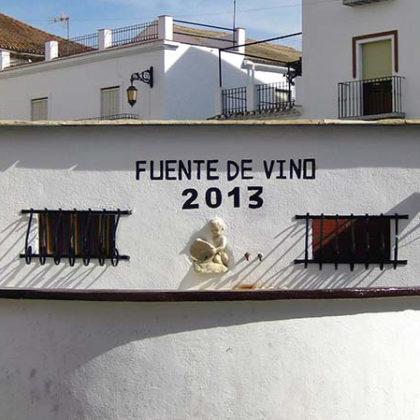 Fuente del Vino. 2013